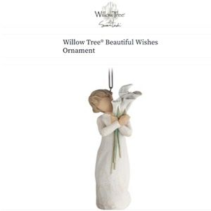 """WILLOW TREE """"BEAUTIFUL WISHES"""" ORNAMENT!"""
